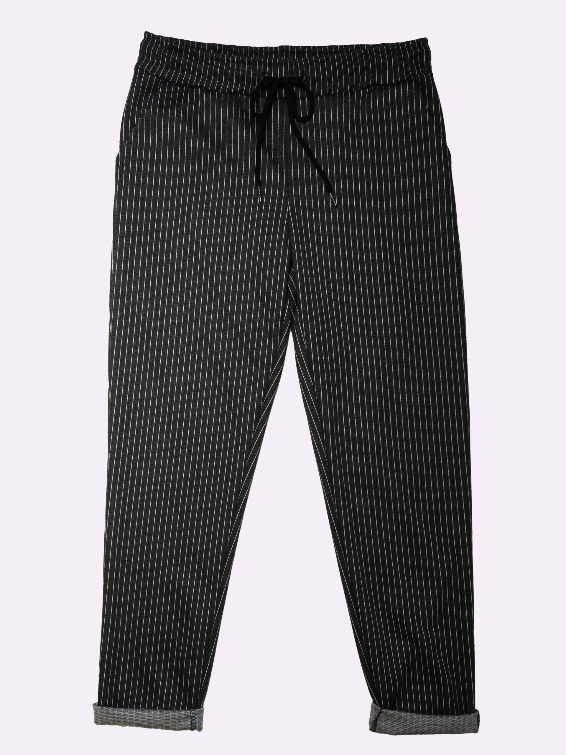 F20338 Pantaloni A Righe