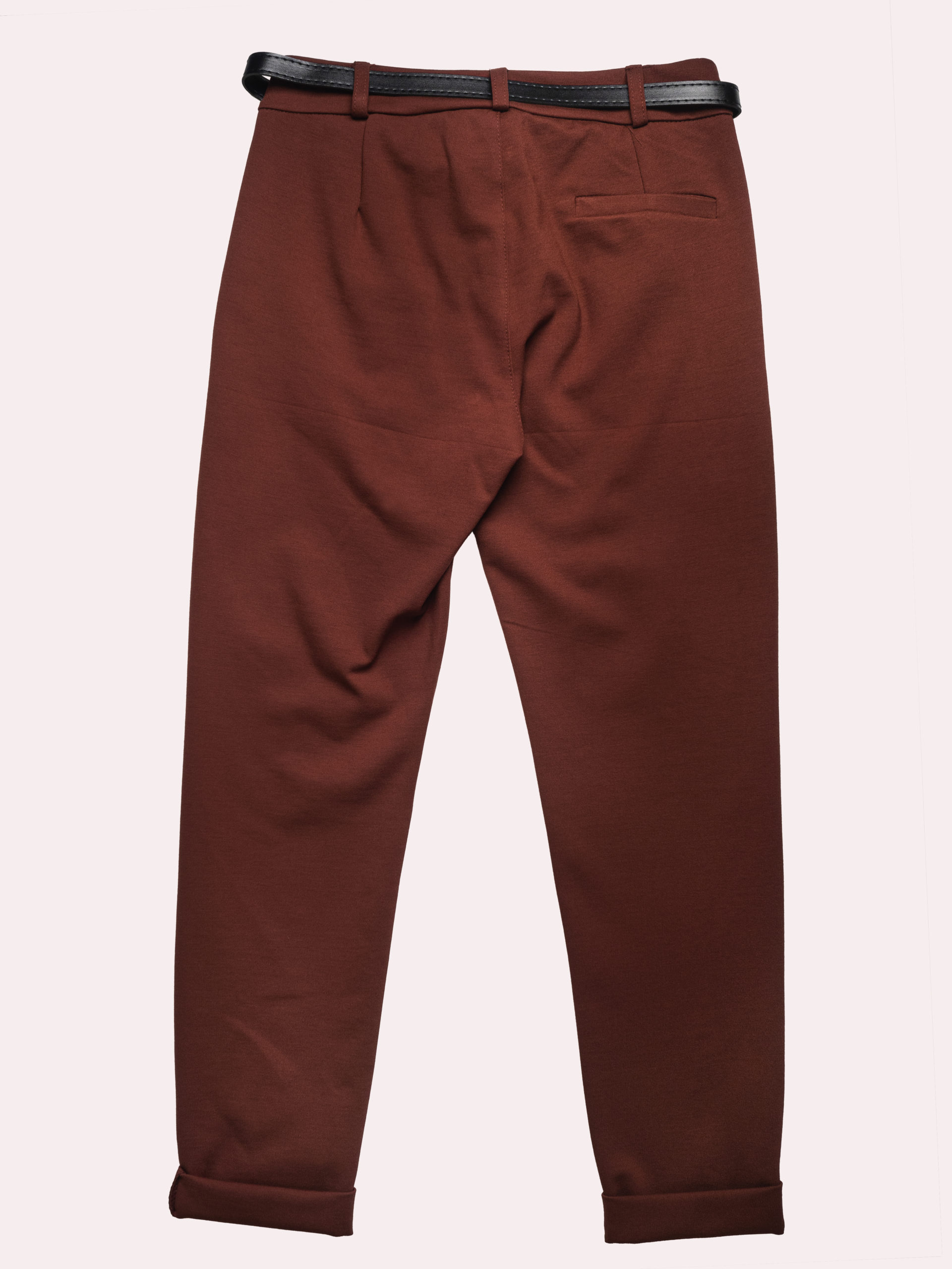 Pantaloni Classici Con Cintura