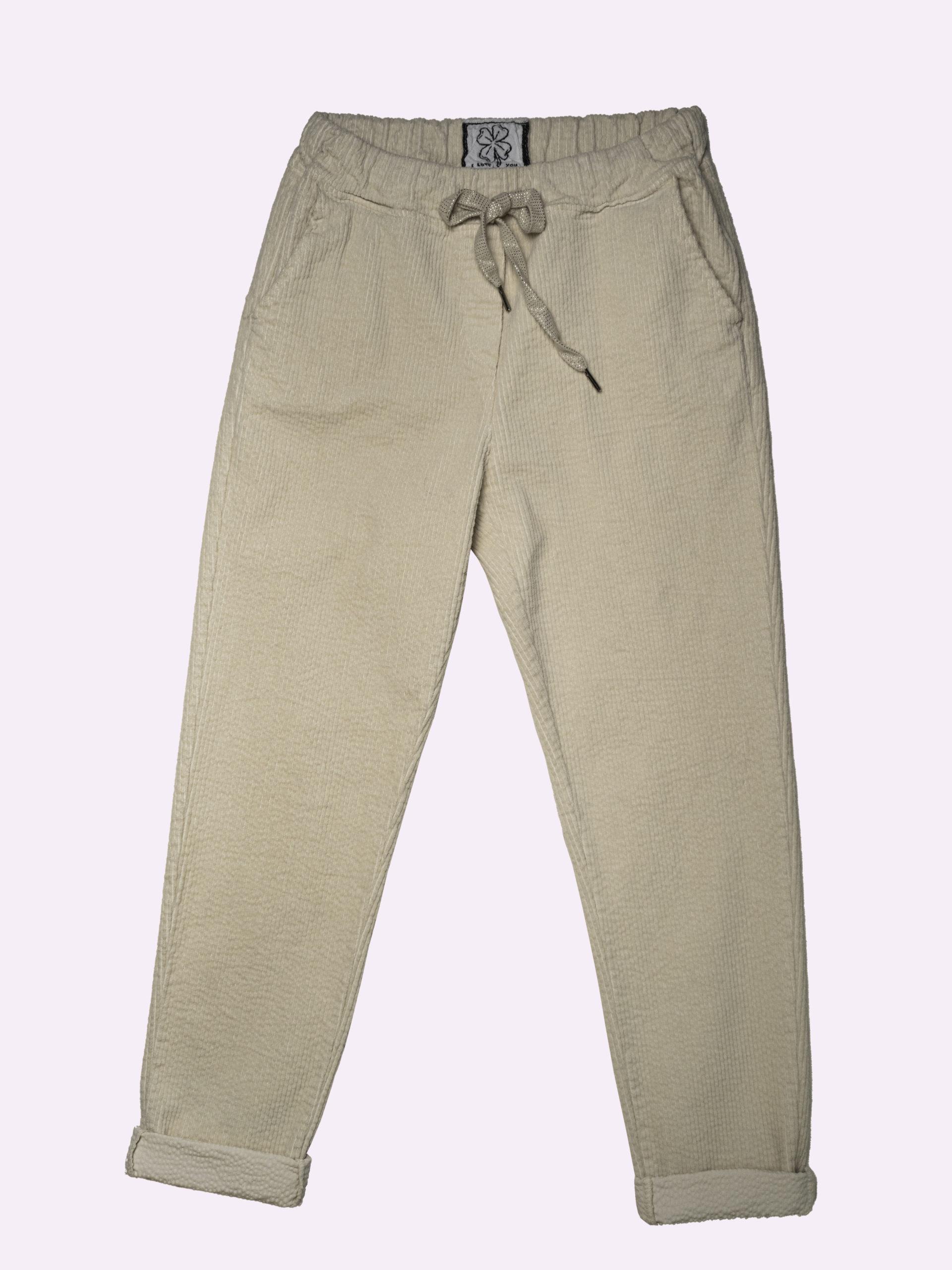 F5618 Pantalone Velluto A Costine