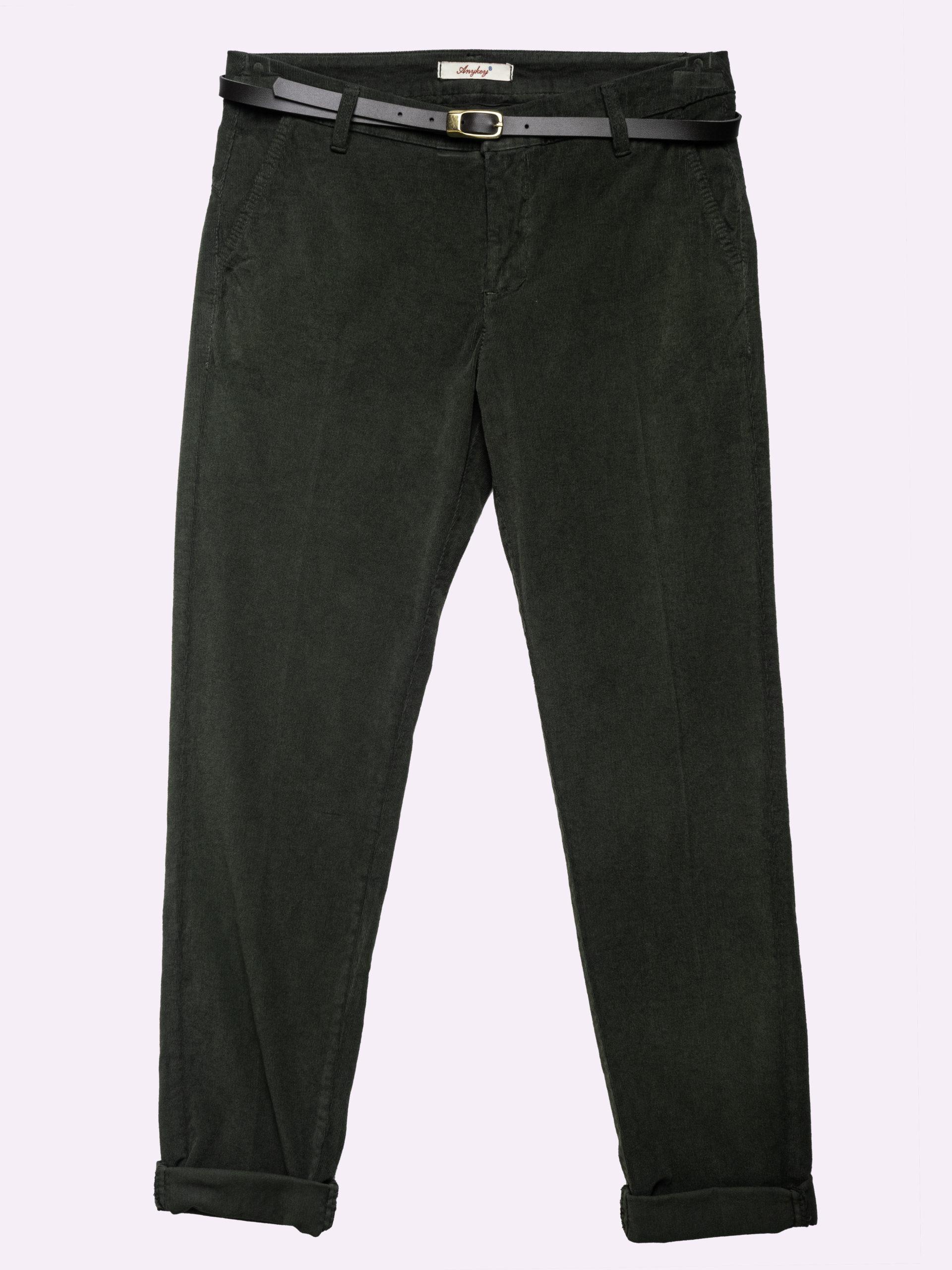 F83890 Pantalone A Costine