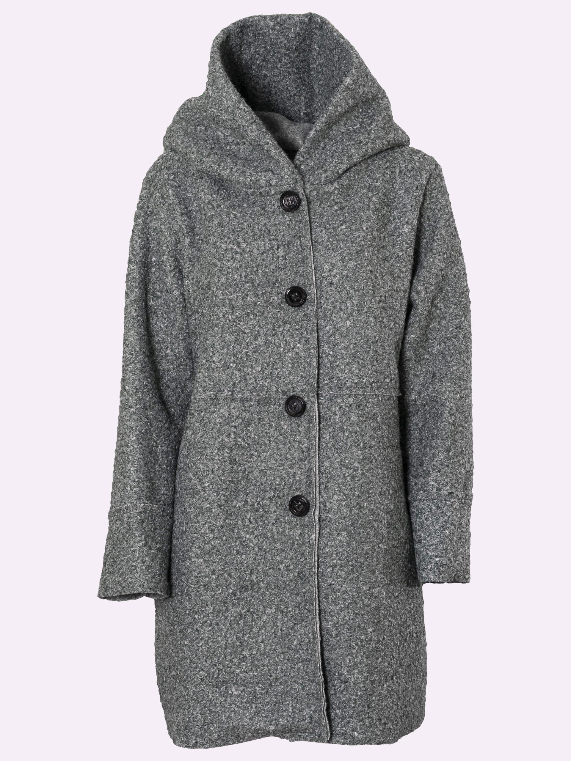 H1022 Cappotto Di Lana