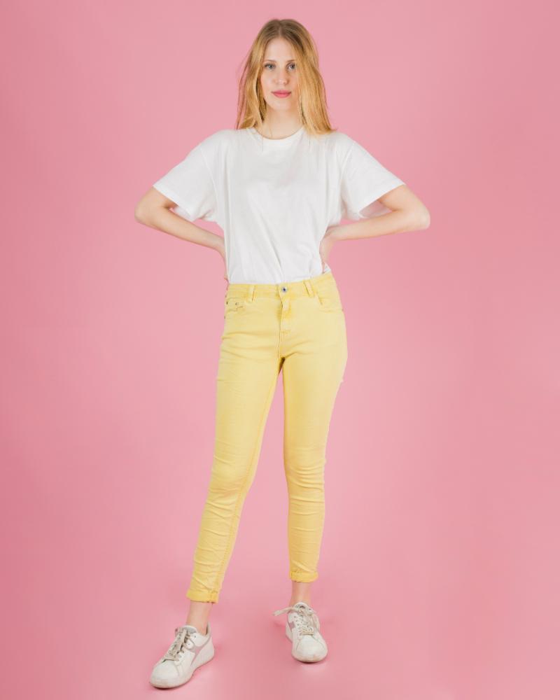F6109 Jeans Stropicciati