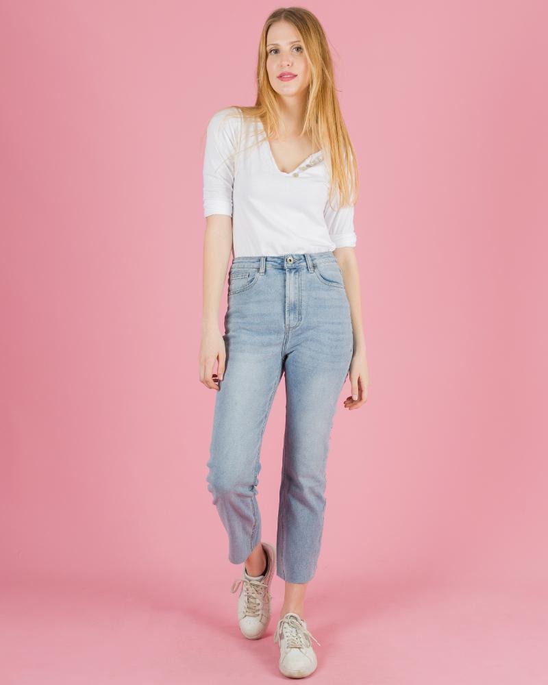 jeans classici senza orlo