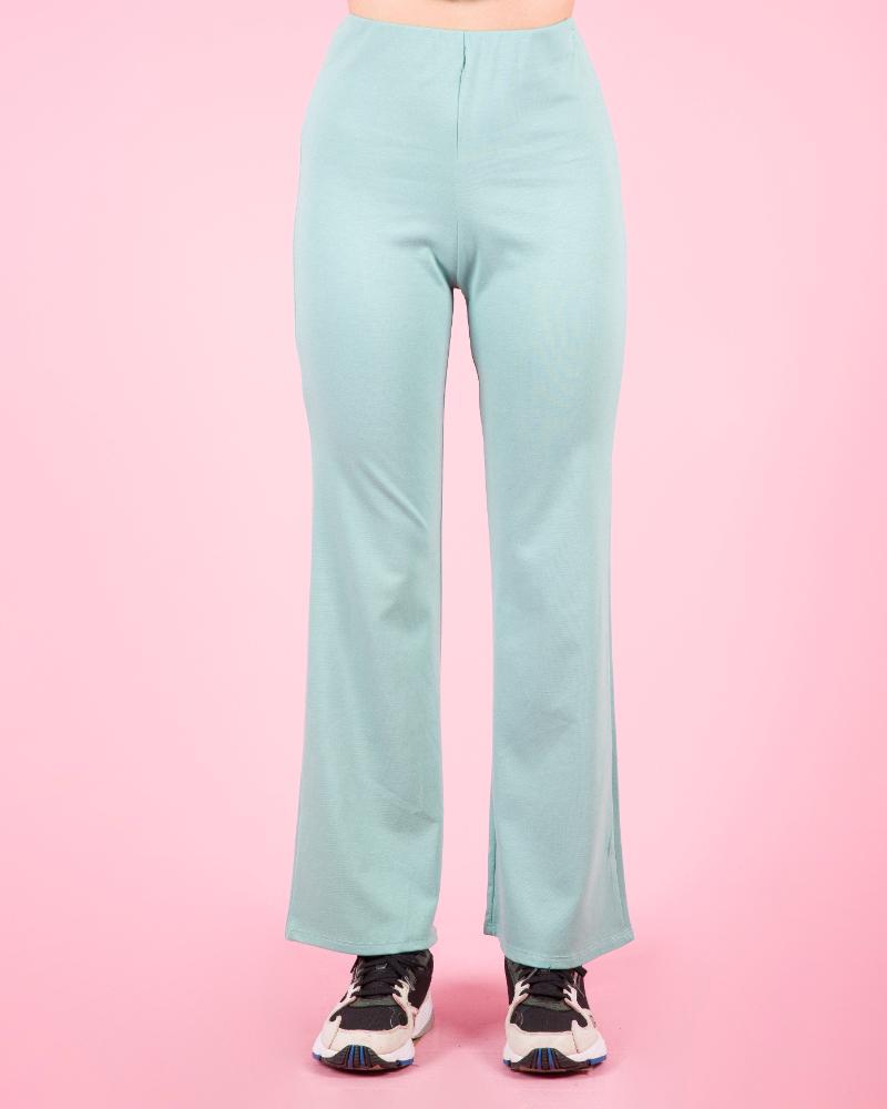 Pantaloni elasticizzati a vita