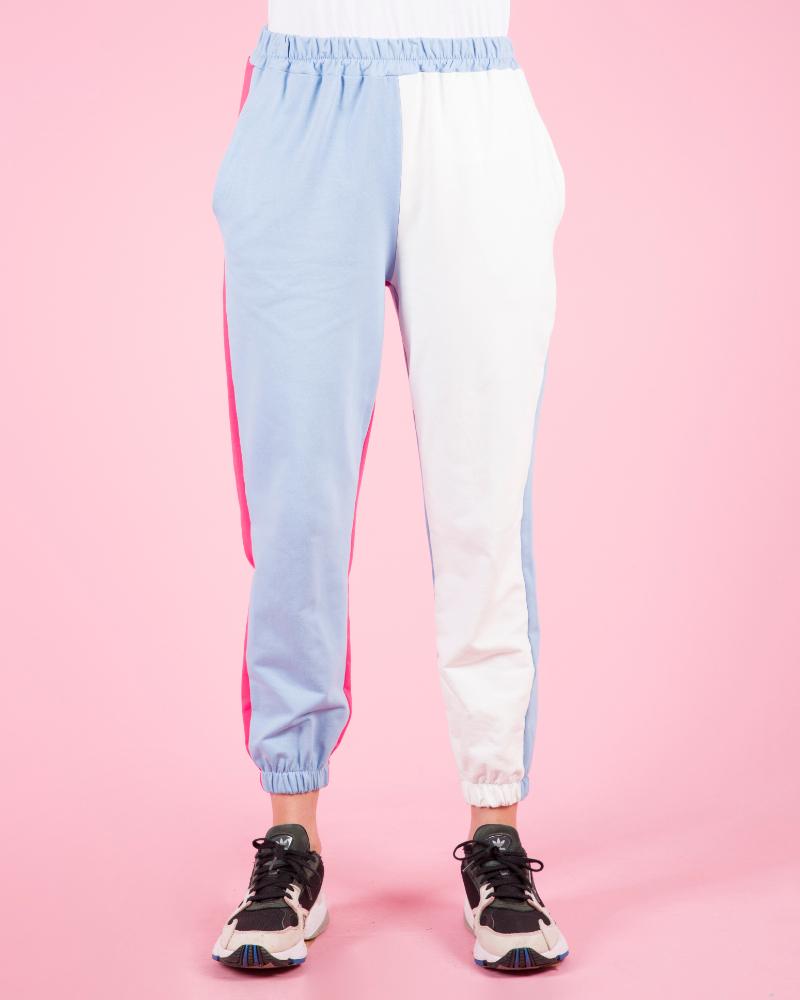Pantaloni tuta colorata