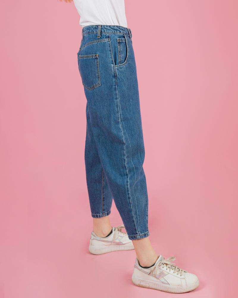 Jeans con orli elasticizzati