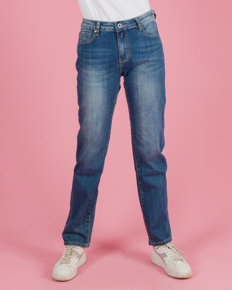 jeans scuro modello classico