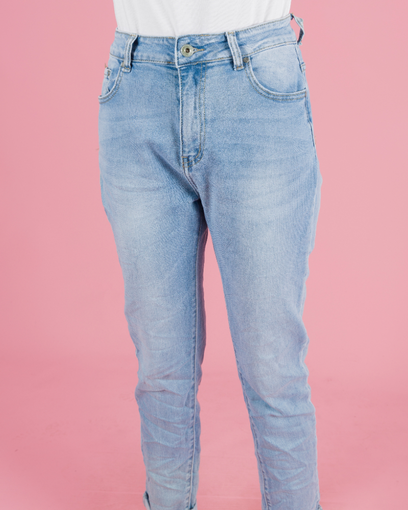 jeans classico chiaro