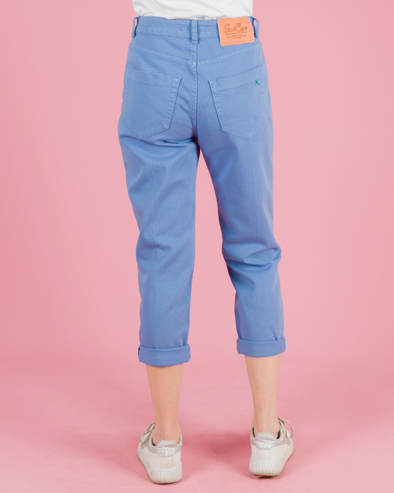 jeans casuale colorato