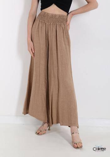 F6031 Pantalone In Lino