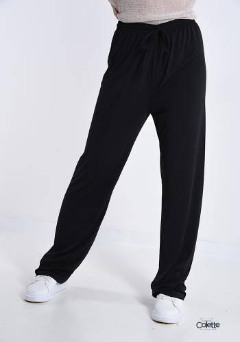 F4846 Pantalone Sportivo Con Fiocco